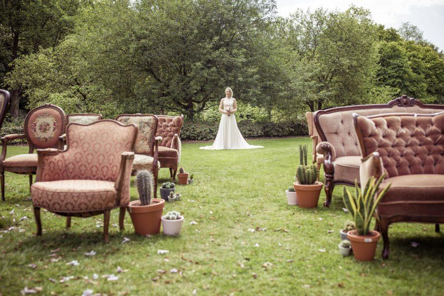 bruid huwelijksceremonie