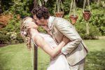 first kiss trouwceremonie