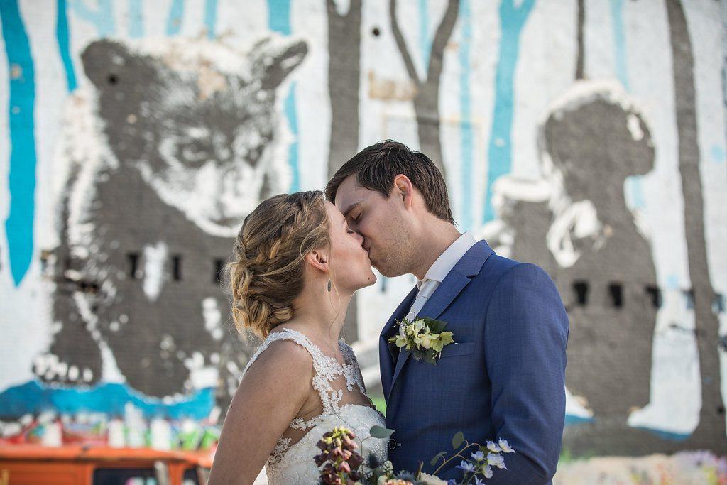 trouwreportage graffiti