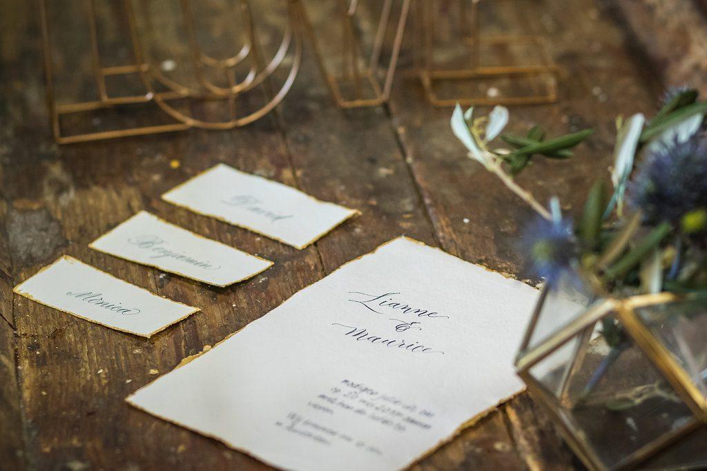 stationery bruiloft