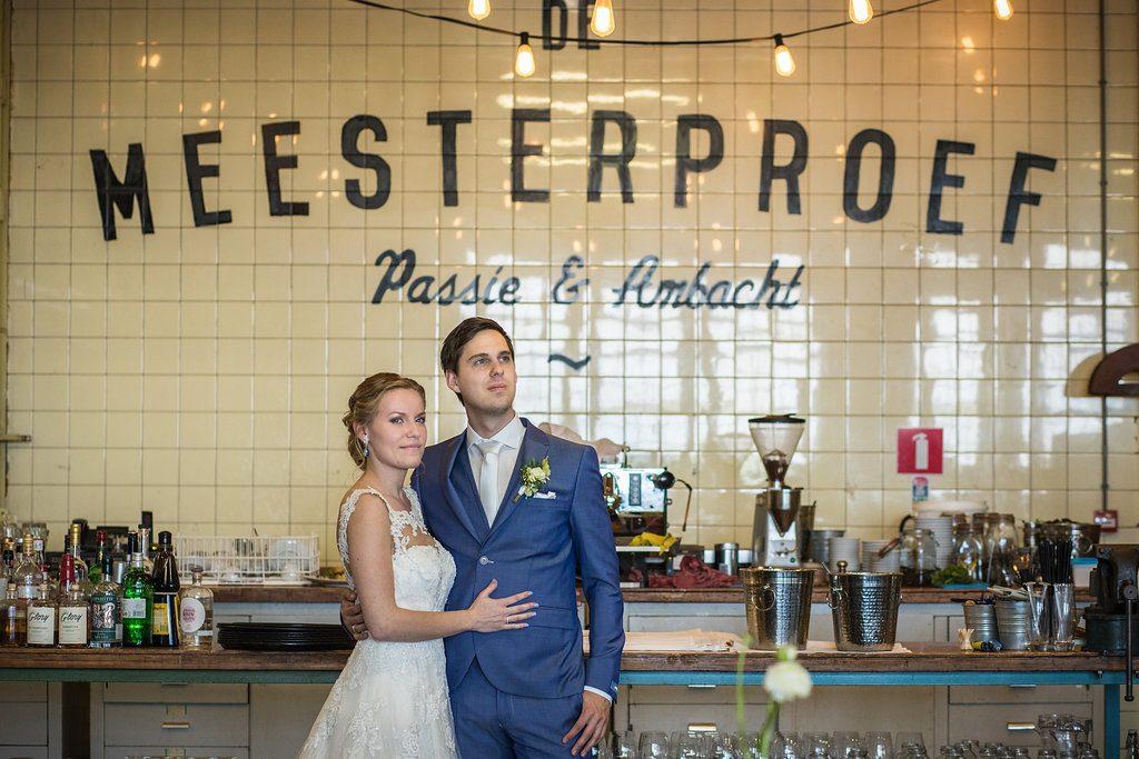 bruiloft industriële locatie