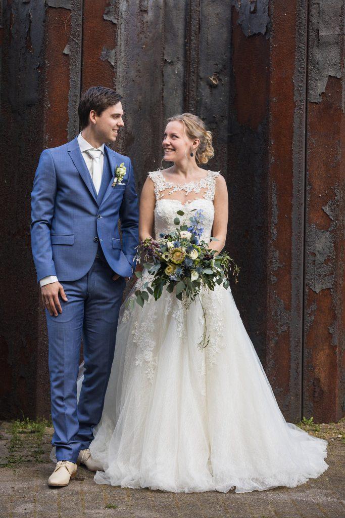 bruidspaar industrieel