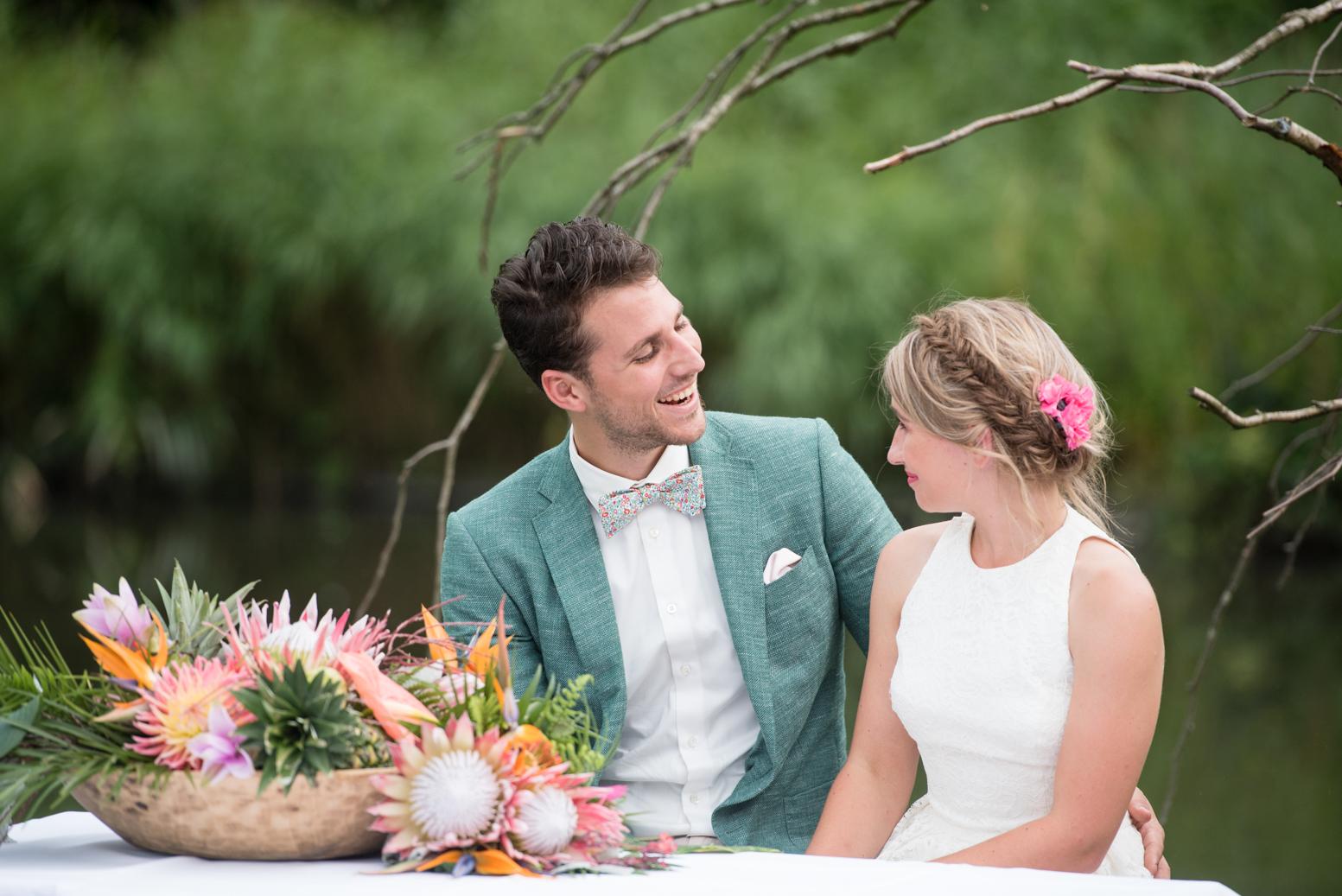 huwelijksceremonie jungle
