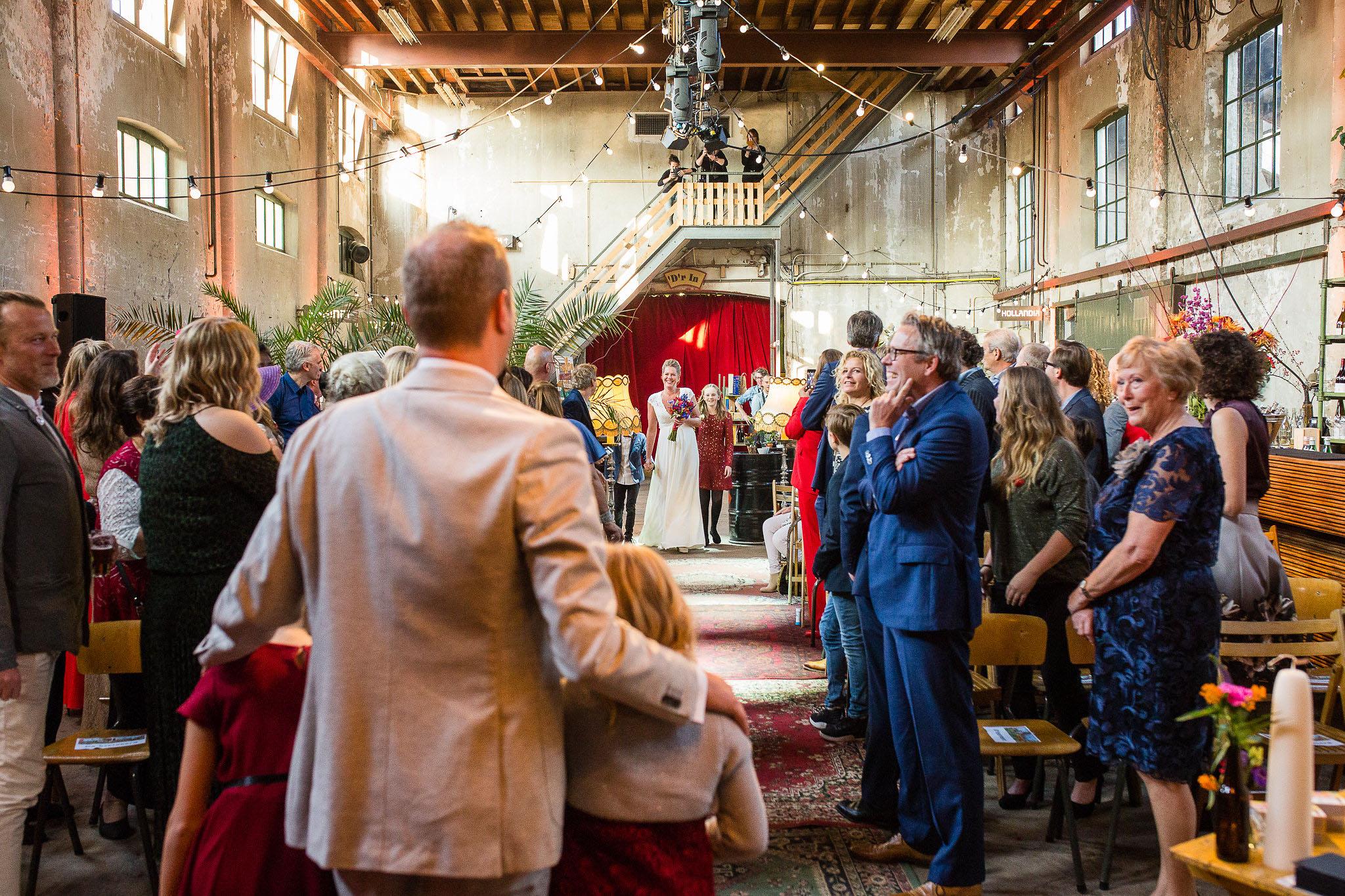 bruiloft metaal kathedraal