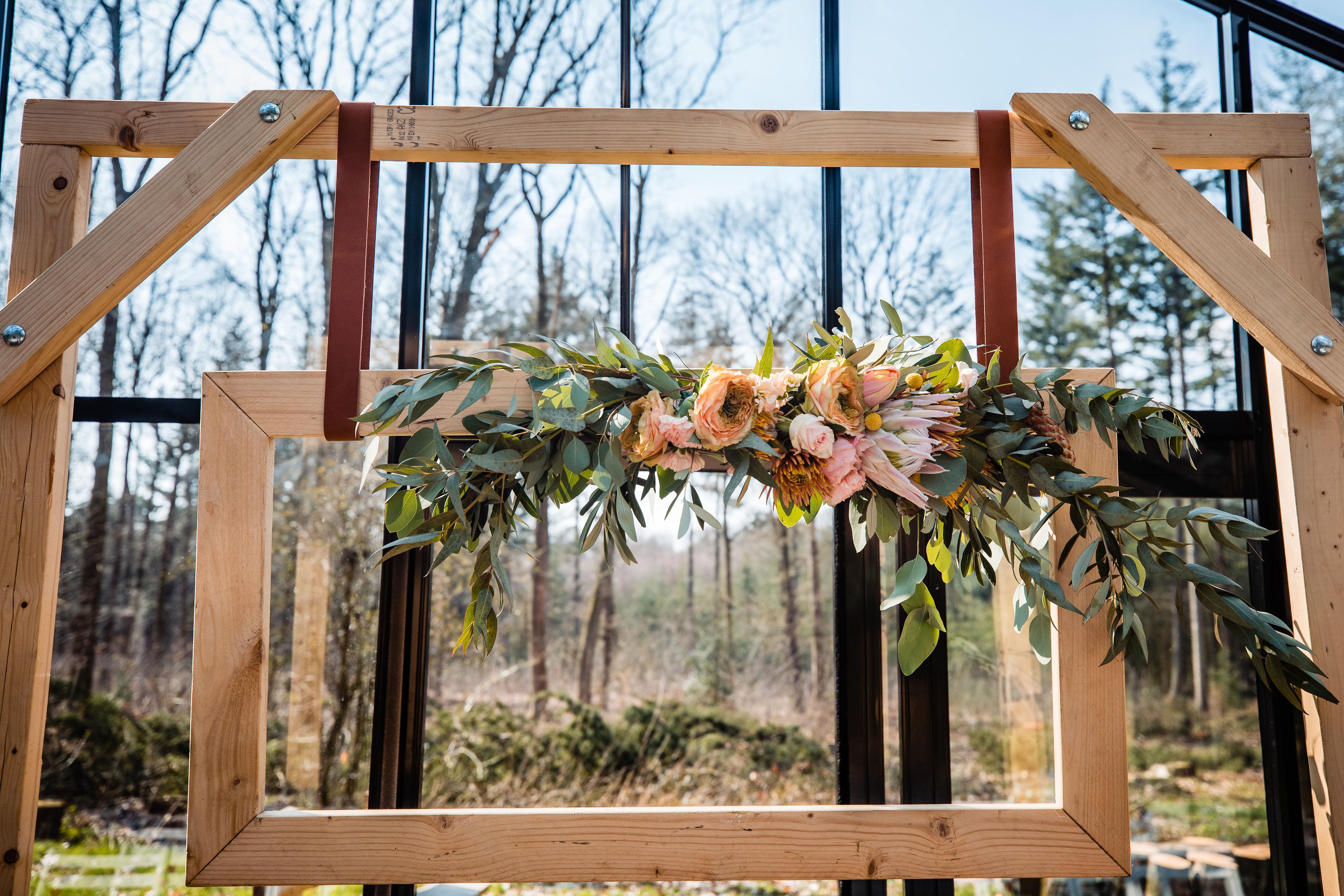 prieel stoer bruiloft