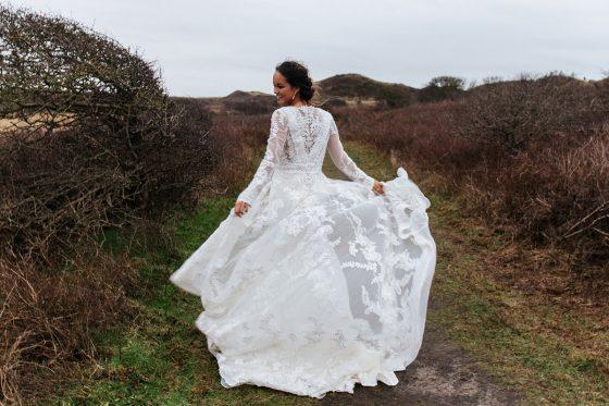 bruidsjurk bohemian