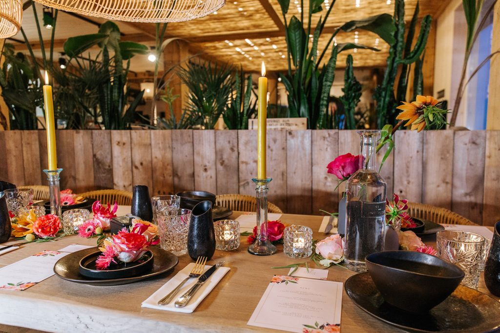 tafelstyling bruiloft