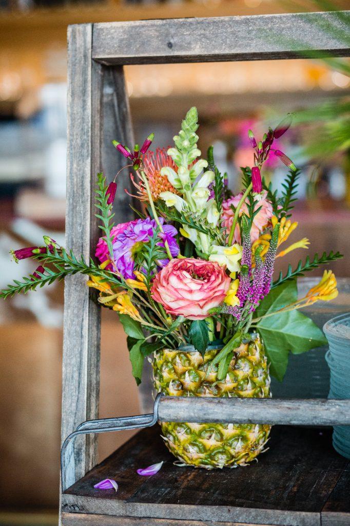 styling tropisch bruiloft