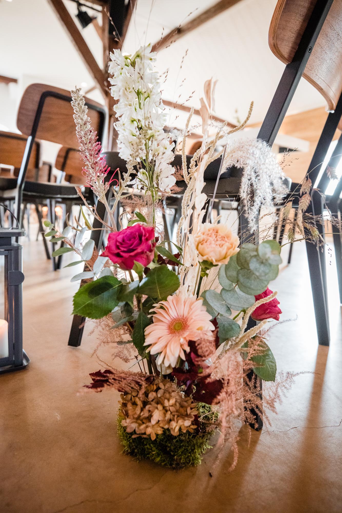 bloementuintje ceremonie bruiloft